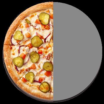 Половинка Чизбургер